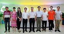 广东省工商联副主席卢小周一行莅临团贷网集团调研指导