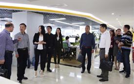 湖北省荆门市委统战部常务副部长任清锋一行到访团贷网